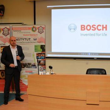 Przemówienie Krzysztof Góry Dyrektora Handlowego Bosch Security Systems w Wojskowej Akademii Technicznej