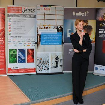 Przemówienie Justyny Kawacz-Matysiak Prezes Janex International w Wojskowej Akademii Technicznej