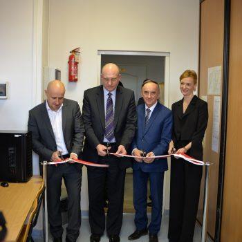 Uroczyste otwarcie nowej pracowni laboratoryjnej w Wojskowej Akademii Technicznej