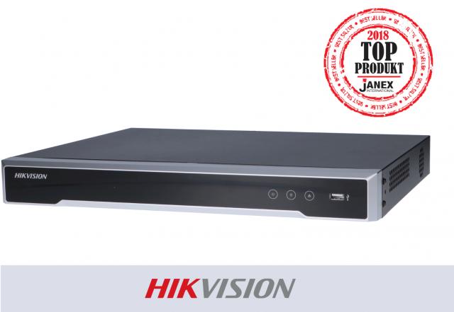 Rejestrator 8-kanałowy IP marki HIKVISION