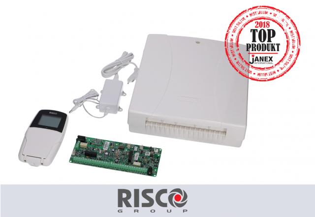 Zestaw LightSys: płyta główna, manipulator, zasilacz, obudowa marki RISCO