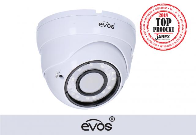 Kamera kopułkowa IP 2MP marki EVOS