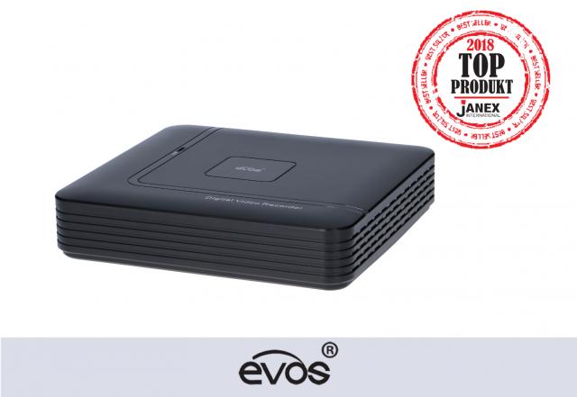 Rejestrator 4-kanałowy AHD marki EVOS