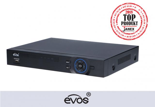 Rejestrator 24-kanałowy IP marki EVOS